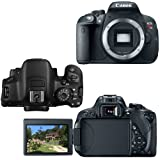 Canon EOS Rebel T5i Digital SLR Camera with EF-S 18-55mm IS STM Lens (International Version) + Tele & Wide Lenses + Neutral Density Filters ND2,ND4,ND8 + 15pc 32GB Dlx Accessory Kit