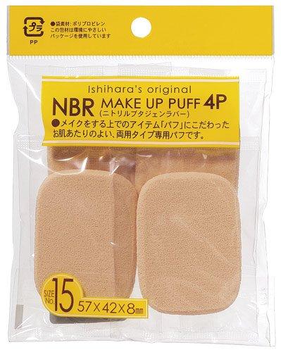 石原 NBRメイクパフ KOー4015