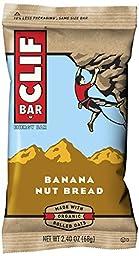 CLIF ENERGY BAR - Banana Nut Bread - (2.4 oz, 12 Count)