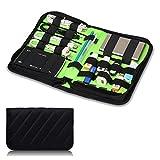 Mygreen Portable Universal Electronic Travel Organizer/ Various Cable, USB, Phone, Charge Organizer/ Flash Disk Organizer Bags (Medium)