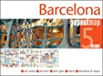 Barcelona PopOut Map - handy, pocket-...