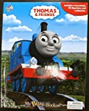 Thomas the Train Storybook, 12 toy figurines and a giant playmat set