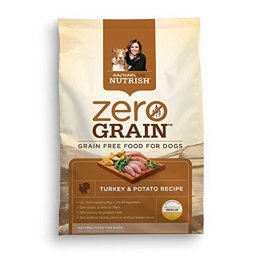 Rachael Ray Nutrish Zero Grain Natural Dry Dog Food, Turkey & Potato Recipe, Grain Free, 14 lbs (Nutrish Dog Food compare prices)