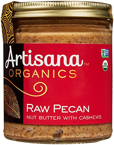 Artisana 100% Organic Pecan Butter with Cashews - 8 ounces (Raw Organic Pickles compare prices)