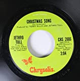JETHRO TULL 45 RPM CHRISTMAS SONG / LIVING IN THE PAST