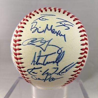 1996 Detroit Tigers Team Signed Baseball Sparky Anderson Allan Trammell - Autographed Baseballs