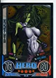 Marvel Hero Attax Series 2 Rare Foil Card #30 She Hulk