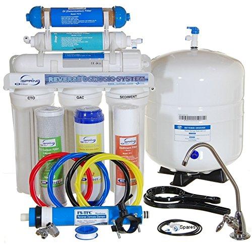 Ispring 75gpd 6 Stage Reverse Osmosis Ro Di De Ionization