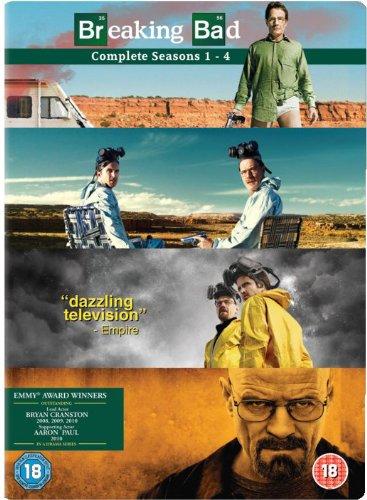 Breaking Bad - Season 1-4 Complete (Exclusive to Amazon.co.uk) [DVD]