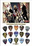 Iron Maiden New Gold Edition Gitarre Plektrum Display With 15 Gitarre Plektren