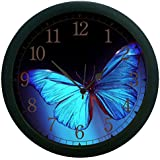 MeSleep Butterfly 3D Wall Clock (With Glass)