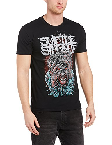 Suicide Silence - Suicide Silence - Ocd, T-shirt da uomo,  manica corta, nero(black), XL