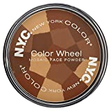 NYC Color Wheel Mosaic Face Powder, All Over Bronze Glow