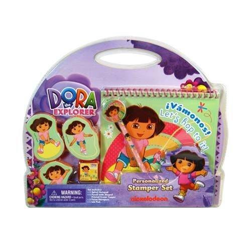 """Dora The Explorer """"Let's hop to it!"""" Stamper Set"""