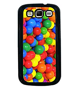Printvisa Ultra Multi colour Balls 2D Hard Polycarbonate Designer Back Case Cover for Samsung...
