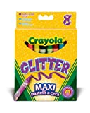 Crayola Brilliant/Glitter Crayons (8 Pack)