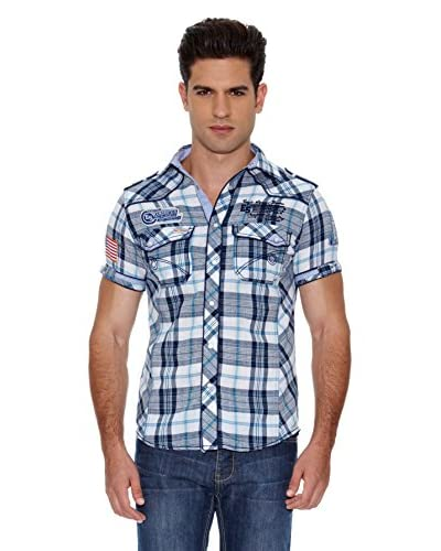 Eagle Square Camisa Carreaux