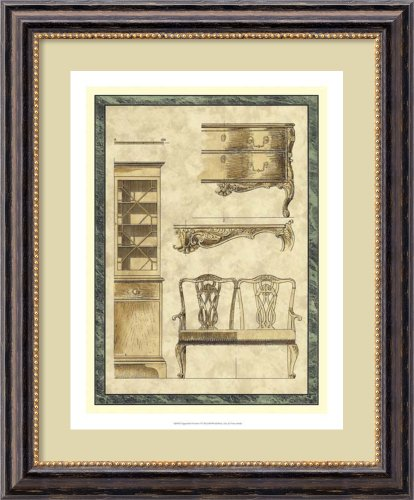 Chippendale Furniture I By Vision Studio Framed front-684013