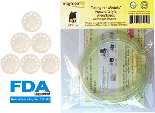 tubing-for-medela-pump-in-style-advanced-breastpump-released-after-jul-2006-plus-6-membranes-in-reta