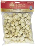 "AKC Bone Beefhide Mini Knotted Bones - 35 Pack - (2.5"")"