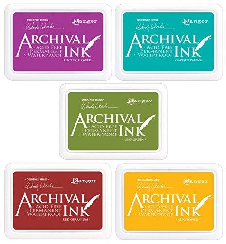 ranger-wendy-vecchi-archival-ink-pads-5-item-bundle