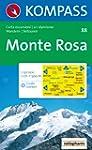 Carte touristique : Monte Rosa