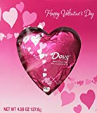 Dove Valentine's Solid Heart, Milk Chocolate, 4.5-Ounce Packages (Pack of 6)