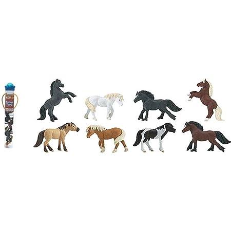 Safari - 681104 - Figurine - Tubo Poneys