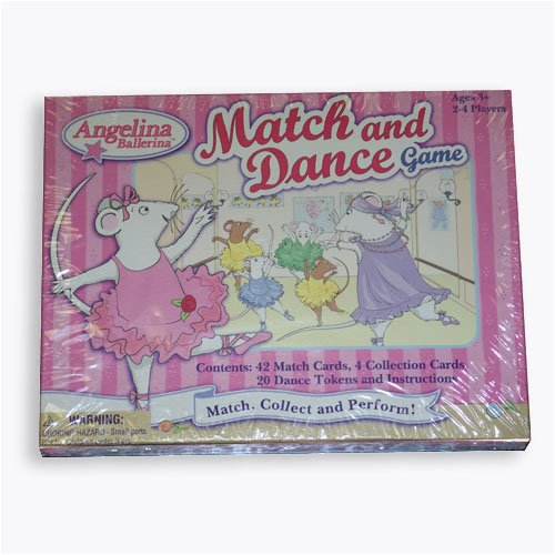 Angelina Ballerina Match and Dance Game - 1