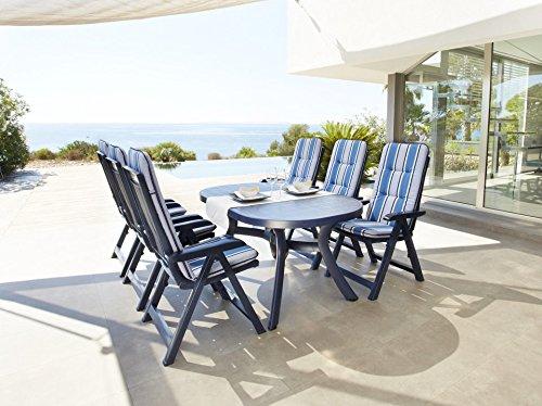 BEST Gartensessel »Kansas (2 Stück)« 2 Stühle, blau jetzt bestellen