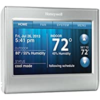 Honeywell RTH9580WF Wi-Fi Smart Touchscreen Thermostat (Silver)