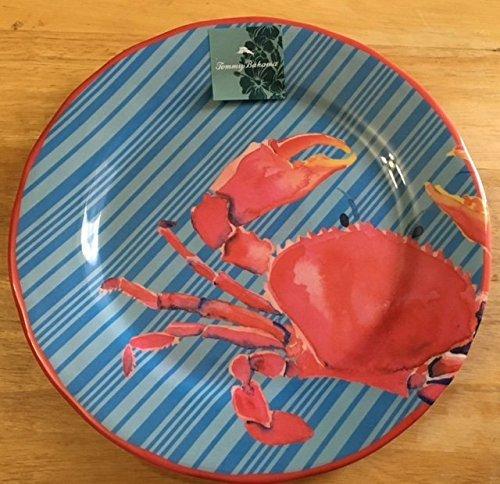 tommy-bahama-nautical-crab-melamine-salad-plates-set-of-4-by-tommy-bahama