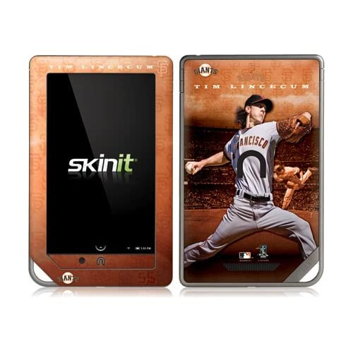 MLB® Tim Lincecum   San Francisco Giants Vinyl Skin for Nook Color / Nook Tablet by Barnes and Noble