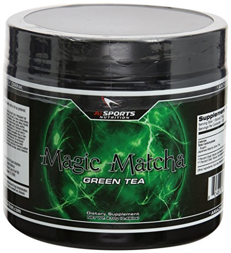 AI Sports Nutrition Magic Matcha Diet Supplements, 210 Gram