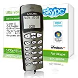 Sogatel - Grey Skype compatible VoIP phone with LCD screen for Windows 7 VISTA XPby Sogatel
