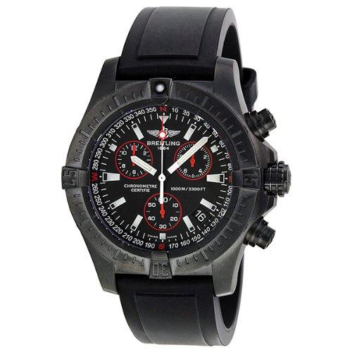 Breitling Aeromarine Avenger Seawolf Chronograph Automatic Black Dial Mens Watch M7339010-BA03