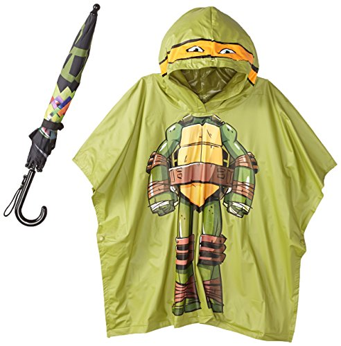 Berkshire Little Boy's Teenage Ninja Turtles Donatello Costume and Umbrella Set