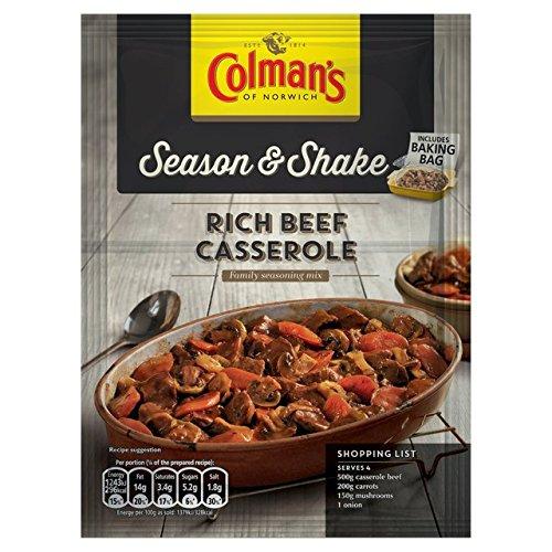 Saison & Shake Rich daube de bœuf Assaisonnement de 40g de Colman