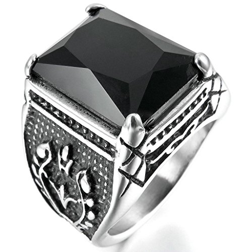 epinkifashion-jewelry-mens-stainless-steel-rings-agate-silver-black-gothic-size-8