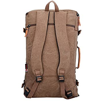 Witzman Men's Retro Canvas Travel Duffel Bag 2