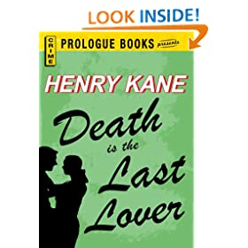 Death is the Last Lover (Prologue Books)
