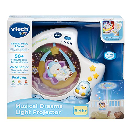 Vtech Musical Dreams Light Projector Baby Toddler Baby