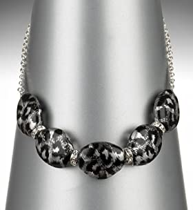 Chunky Bead Collar Necklace