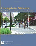 img - for Complete Streets: Best Policy and Implementation Practices (Planning Advisory Service Report) book / textbook / text book