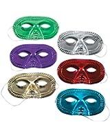 Metallic Half-Masks (2 dz)