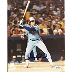 Gary Carter Montreal Expos Signed 8x10 Photo W JSA Sticker