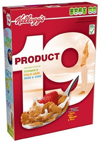 Product 19 Cereal, 12-Ounce Boxes (Pack of 4)