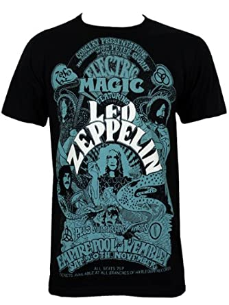 Led Zeppelin : Magic Tee-Shirt Homme Sous Licence Officielle