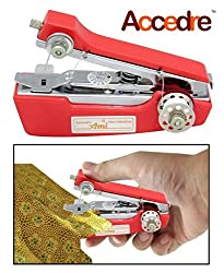 Dealcrox Mini Stapler Style Hand Sewing Machine for Quick and Easy Sewing