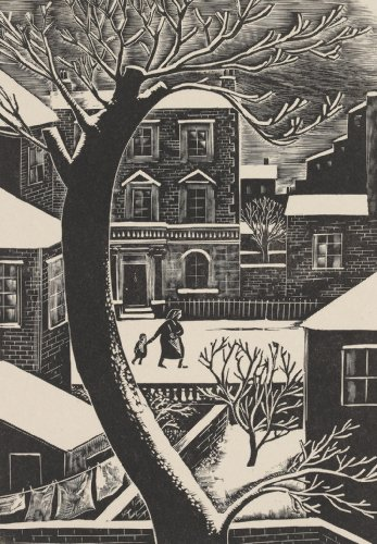 London Snow Iain Macnab of Barachastlain (1890-1967)